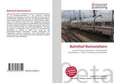 Обложка Bahnhof Romanshorn
