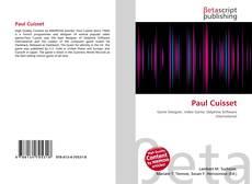 Copertina di Paul Cuisset