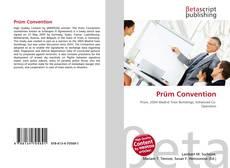 Buchcover von Prüm Convention