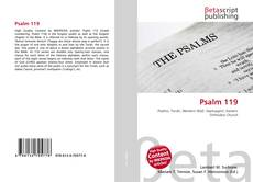 Bookcover of Psalm 119