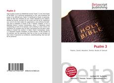 Bookcover of Psalm 3