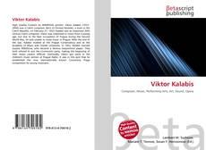 Bookcover of Viktor Kalabis