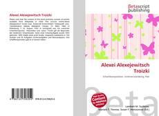 Bookcover of Alexei Alexejewitsch Troizki