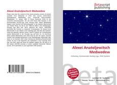 Bookcover of Alexei Anatoljewitsch Medwedew