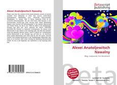 Bookcover of Alexei Anatoljewitsch Nawalny