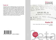 Bookcover of Psalm 23