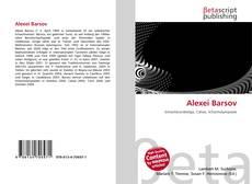 Bookcover of Alexei Barsov