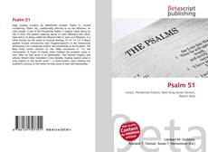 Bookcover of Psalm 51