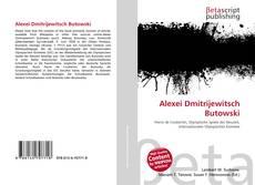 Bookcover of Alexei Dmitrijewitsch Butowski