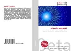 Bookcover of Alexei Faworski