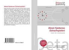 Bookcover of Alexei Fjodorow (Schachspieler)