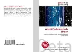 Bookcover of Alexei Fjodorowitsch Orlow
