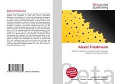 Buchcover von Alexei Friedmann