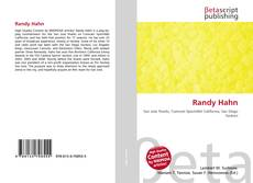 Bookcover of Randy Hahn