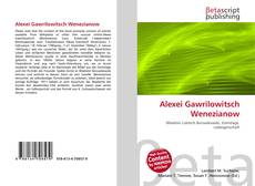Bookcover of Alexei Gawrilowitsch Wenezianow