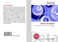 Bookcover of Alexei Gordejew