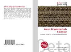 Bookcover of Alexei Grigorjewitsch Smirnow