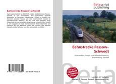 Copertina di Bahnstrecke Passow–Schwedt