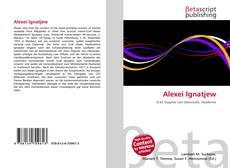 Bookcover of Alexei Ignatjew