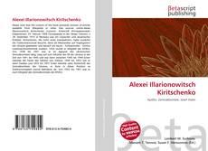Bookcover of Alexei Illarionowitsch Kiritschenko
