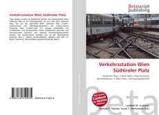 Buchcover von Verkehrsstation Wien Südtiroler Platz
