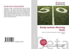 Bookcover of Randy Jackson (Running Back)