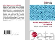 Alexei Jewgenjewitsch Petuchow的封面