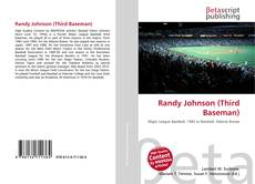 Capa do livro de Randy Johnson (Third Baseman)