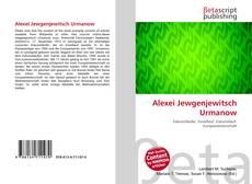 Bookcover of Alexei Jewgenjewitsch Urmanow