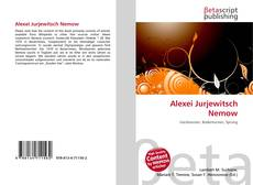 Bookcover of Alexei Jurjewitsch Nemow