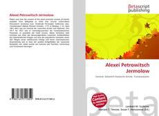Buchcover von Alexei Petrowitsch Jermolow