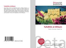 Bookcover of Tahdhib al-Ahkam