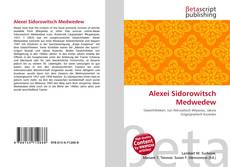 Bookcover of Alexei Sidorowitsch Medwedew