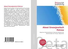 Bookcover of Alexei Sinowjewitsch Petrow