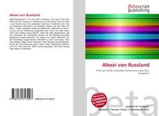 Alexei von Russland kitap kapağı