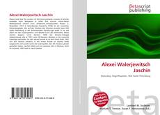 Bookcover of Alexei Walerjewitsch Jaschin