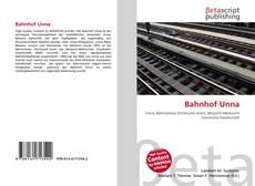 Buchcover von Bahnhof Unna