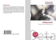 Buchcover von Randy Lerch