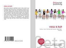 Bookcover of Viktor & Rolf