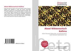 Bookcover of Alexei Wiktorowitsch Kallima