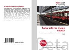 Portada del libro de Praha-Vršovice osobní nádraží