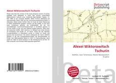 Bookcover of Alexei Wiktorowitsch Tschurin