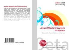 Bookcover of Alexei Wladimirowitsch Tichonow
