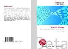 Bookcover of Alexei Zouev