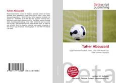 Taher Abouzaid kitap kapağı