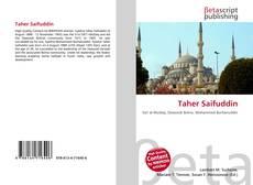 Taher Saifuddin kitap kapağı