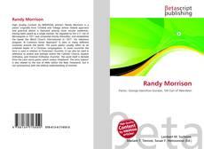 Portada del libro de Randy Morrison