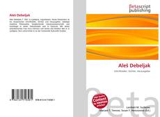 Bookcover of Aleš Debeljak