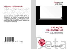 Portada del libro de Aleš Pajovič (Handballspieler)