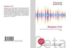 Bookcover of Alexejew I-212